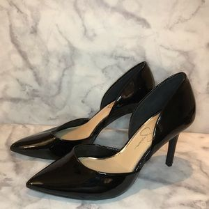 Jessica Simpson Pointed Patent Heels